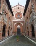 San Nazzaro Sesia (Novara), abbey Royalty Free Stock Images