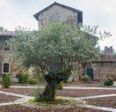 San Nazzaro Sesia (Novara), Abtei Lizenzfreie Stockfotografie