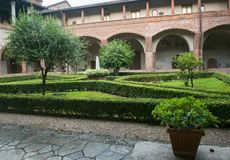 San Nazzaro Sesia (Novara), Abtei Stockfotos