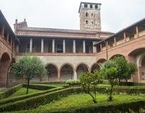 San Nazzaro Sesia (Novara), Abtei lizenzfreie stockfotos