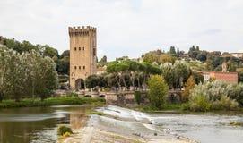 San Niccolo Tower Florence Stock Image