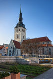San Nichola's Church, Niguliste Museum in Tallinn Stock Photography