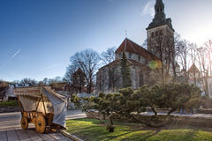 San Nichola's Church, Niguliste Museum in Tallinn Royalty Free Stock Photography