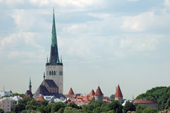 San Nichola's Church, Niguliste in Tallin Royalty Free Stock Photography