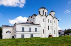 San Nicholas Cathedral in Novgorod La Russia fotografie stock libere da diritti