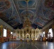 San Nicholas Church, Barnaul, Russia Fotografie Stock Libere da Diritti