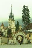 San Nicholas Church, città di Brasov Immagini Stock