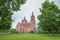 San Nicholas Church in Vaasa Fotografia Stock Libera da Diritti