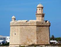San Nicholas, Ciutadella, Menorca della fortezza Immagini Stock Libere da Diritti