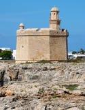 San Nicholas, Ciutadella, Menorca della fortezza Immagine Stock Libera da Diritti