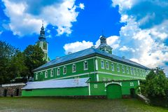 San Nicholas Monastery 01 di Mukachevo fotografia stock libera da diritti