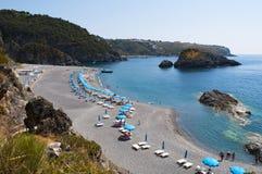 San Nicola Arcella, Cosenza, Calabria, południowy Włochy, Włochy, Europa Fotografia Stock