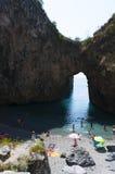 San Nicola Arcella, Cosenza, Calabria, południowy Włochy, Włochy, Europa Obraz Stock