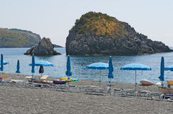 San Nicola Arcella, Cosenza, Calabria, sydliga Italien, Italien, Europa Royaltyfria Bilder