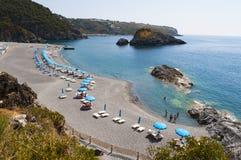 San Nicola Arcella, Cosenza, Calabria, sydliga Italien, Italien, Europa Royaltyfri Foto