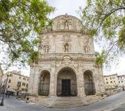San Nicola Cathedral Duomo en Sassari, Italia Foto de archivo libre de regalías