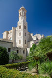 San Nicola Cathedral, Sassari, Sardinige Stock Afbeeldingen