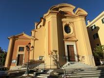 San Nicola della chiesa di Bari nella città di Colonna, vicino a Roma Immagini Stock