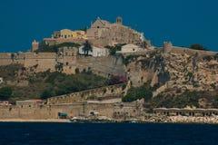 San Nicola wyspy scena na Adriatic morzu Obrazy Royalty Free