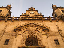 San Nicolas church in Bilbao Royalty Free Stock Photos