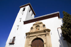 San Nicolas church, Granada Royalty Free Stock Images