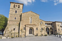 San Nicolas de Bari in Aviles, Spain Stock Image