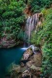 San nicolas del puerto water waterfall. San nicolas del puerto sevilla andalucia spain water waterfall royalty free stock photo