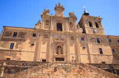 San Nicolas El Real Monastery, Villafranca del Bierzo Royalty Free Stock Images