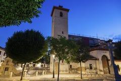 San Nicolas kościół w Granada Zdjęcie Royalty Free