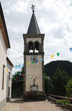 San Nicolo Church in Ligosullo Royalty Free Stock Image