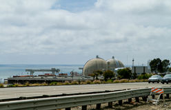 San Onofre Nuclear Power Plant Royalty Free Stock Photos