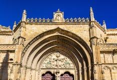 San Pablo Church em Ubeda - Espanha imagens de stock