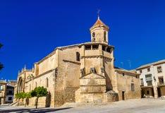San Pablo Church em Ubeda - Espanha fotografia de stock royalty free