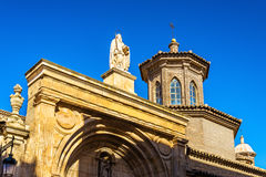 San Pablo Church em Zaragoza, Espanha imagem de stock