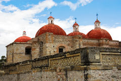 San Pablo church, Mitla royalty free stock photo