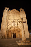 San Pablo Church at night, Valladolid, Royalty Free Stock Photo