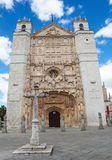 San Pablo church in Valladolid. Facade of the San Pable Church (15th Century) in Valladolid, Castile and Leon, Spain. This church is built in the Isabelline Royalty Free Stock Image