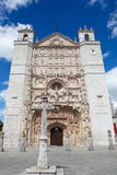 San Pablo church in Valladolid. Facade of the San Pable Church (15th Century) in Valladolid, Castile and Leon, Spain. This church is built in the Isabelline Stock Photos
