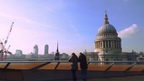 San Pablo en Gran Bretaña almacen de metraje de vídeo