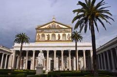 San Pablo fuera de las paredes - Roma Imagen de archivo libre de regalías