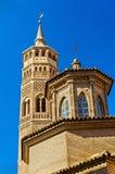 San Pablo kościół w Zaragoza, Hiszpania obraz royalty free