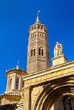 San Pablo kościół w Zaragoza, Hiszpania zdjęcia royalty free