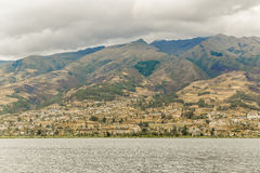 San Pablo Lake Imbabura District Ecuador Stockfotos