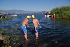 San Pablo See in der Provinz von Imbabura Stockbilder