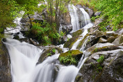 San Paio Waterfall. Carballo, A Coruña, Spain Royalty Free Stock Photos