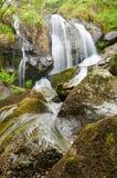 San Paio Waterfall. Carballo, A Coruña, Spain Royalty Free Stock Image