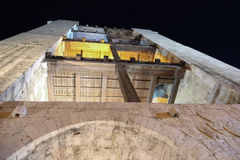 San Pancrazio tower Cagliari Royalty Free Stock Images
