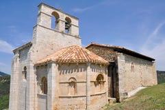 San Pantaleon de Losa hermitage  (Spain) Stock Image