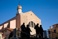 San Pantalon kościół, Wenecja Obrazy Royalty Free