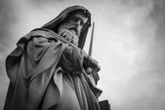 San Paolo fuori Le Mur Statue Lizenzfreie Stockfotos